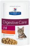 Влажный корм для кошек Hills Prescription Diet i/d при расстройствах пищеварения с курицей 85г