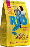 Корм для птиц Rio для средних попугаев в период линьки 1кг