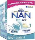 Смесь NAN 1 OPTIPRO молочная 1.05кг
