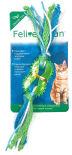 Игрушка для кошек Aromadog Feline Clean Dental Колечко прорезыватель с лентами