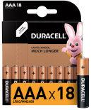 Батарейки Duracell Basic AAA 18шт