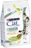 Сухой корм для кошек Cat Chow Sterilised с домашней птицей 1.5 кг