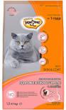 Сухой корм для кошек Мнямс Skin&Coat для кожи и шерсти с лососем 1.5кг
