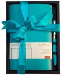 Подарочный набор BrunoVisconti Megapolis Flex Морская волна Ежедневник + ручка