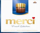 Набор шоколадных конфет Merci Ассорти 4 вида из молочного шоколада 250г