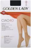 Носки женские Golden Lady Ciao 40 Nero Черные 2 пары