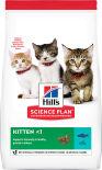 Сухой корм для котят Hills Science Plan Kitten с тунцом 7кг