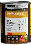 Влажный корм для собак Probalance Immuno с говядиной 850г