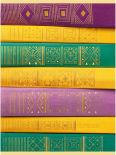 Тетрадь для конспектов Paper Art Книжная коллекция клетка А4 96л