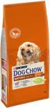 Сухой корм для собак Dog Chow Mature Adult 5+ с ягненком 14кг