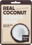 Маска для лица FarmStay тканевая с экстрактом кокоса 23мл