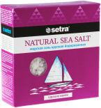 Соль Setra Морская крупная йодированная 500г