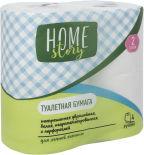 Туалетная бумага Home Story 4 рулона 2 слоя