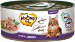 Корм для кошек Мнямс Тунец с дорадо в нежном желе 70г