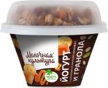 Йогурт Молочная культура с бананом со вкусом карамели и гранолой 2.7-3.5% 215г