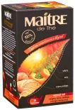Чай черный Maitre de The Чабрец Мята Имбирь Апельсин 20шт