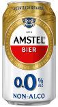 Пиво Amstel безалкогольное светлое 0.0% 0.33л