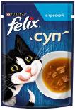 Корм для кошек Felix Суп с треской 48г