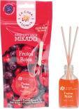 Ароматизатор воздуха La Casa de los Aromas Красные фрукты жидкий с палочками 30мл