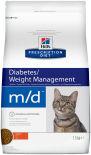 Сухой корм для кошек Hills Prescription Diet при сахарном диабете с курицей 1.5кг