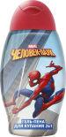 Гель-пена для ванны Человек-паук 2в1 Double Effect 400мл