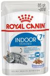 Корм для кошек Royal Canin Indoor Sterilised 7+ желе 85г
