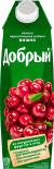Нектар Добрый Яблоко-вишня-черноплодная рябина 1л