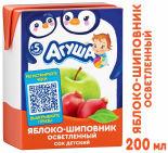 Сок Агуша Яблоко-шиповник 200мл