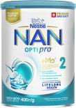 Смесь NAN 2 OPTIPRO молочная 400г