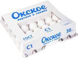 Яйца Окское С1 белые 30шт
