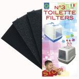 Фильтры для кошачьего туалета Lili Pet 9*18*2 3шт