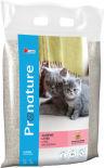Наполнитель для кошачьего туалета Pronature комкующийся с ароматом детской присыпки 6кг