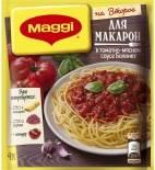 Сухая смесь Maggi На второе для Макарон в томатно-мясном соусе Болонез 30г