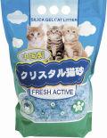Наполнитель для туалета Hakase Arekkusu Fresh Active силикагелевый 3.8л
