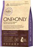 Сухой корм для собак One&Only Adult large индейка с рисом 3кг