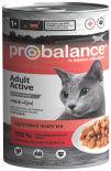 Влажный корм для кошек Probalance Active 415г