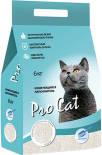 Наполнитель для кошачьего туалета Pro Cat Regular комкующийся из экстра белой глины 6кг