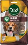 Лакомство для собак Triol Вымя говяжье молочное 50г