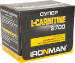 Напиток IronMan Super L-carnitine 2700 Гранат 12шт*60мл
