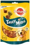 Лакомство для собак Pedigree Tasty Bites ароматные кусочки с курицей 130г