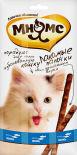 Лакомство для кошек Мнямс Лакомые палочки с лососем и форелью 13.5см 3шт*5г