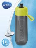 Фильтр-бутылка для воды Brita Fill&Go Active цвет лайм 600мл