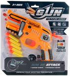Игрушка Veld Co пистолет с мягкими пулями 5шт