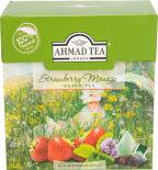 Чай зеленый Ahmad Tea Strawberry Mousse 20 пак