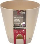 Горшок для цветов InGreen Amsterdam Молочный шоколад 4л