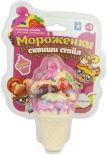 Игрушка 1Toy Мороженки сквиши стайл клубничный чизкейк 12см