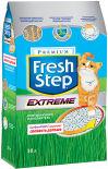 Наполнитель для кошачьего туалета Fresh Step тройной контроль запахов 30л