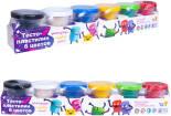 Набор для лепки Genio Kids Тесто-пластилин TA1009 6 цветов