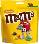 Драже M&Ms с арахисом и молочным шоколадом 240г