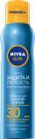 Спрей солнцезащитный сухой Nivea Sun SPF30 Защита и легкость 200мл